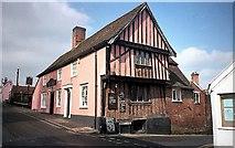 TM2749 : Angel Inn Woodbridge by norman griffin