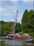 SJ8934 : Trent and Mersey Canal at Stone, Staffordshire by Roger  Kidd