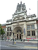 TQ2779 : The V&A main entrance by Anthony O'Neil