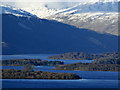NS4089 : Loch Lomond from Duncryne Hill by Thomas Nugent