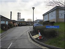 SX9392 : Entrance to renal treatment unit, Royal Devon and Exeter hospital by David Smith