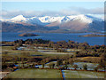 NS4286 : Loch Lomond from Duncryne Hill by Thomas Nugent
