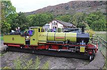NY1700 : Ravenglass & Eskdale Railway - Dalegarth Station by Chris Allen