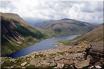 NJ0102 : Loch Avon and The Saddle by Alan Reid