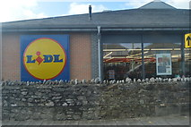 SX4656 : Lidl, Ford by N Chadwick