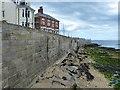 NZ5333 : Sea wall at the Headland, Hartlepool by Mat Fascione