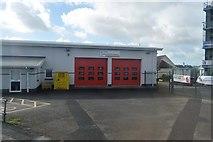 SX4159 : Saltash Fire Station by N Chadwick