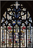 SK9136 : St Wulfram, Grantham - Stained glass window by John Salmon