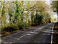 SP2613 : Up the A361 from Fulbrook, West Oxfordshire by Jaggery