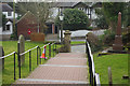SJ8604 : Path from the church door at Codsall by Stephen McKay