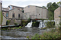 SD4979 : Weir and paper mill, Beetham by Chris Allen