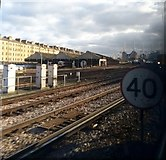 TQ2878 : View from Train leaving Victoria Station by PAUL FARMER