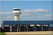 TQ2740 : Gatwick Airport - Air Traffic Control Tower by N Chadwick