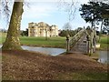 SO8844 : Croome Court and Chinese Bridge by Philip Halling