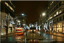 TQ3780 : View along West India Avenue from Cabot Square by Robert Lamb