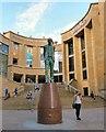 NS5965 : Donald Dewar statue by Gerald England