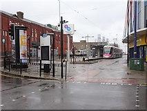 SO9198 : Wolverhampton St. George's tram stop, West Midlands by Nigel Thompson