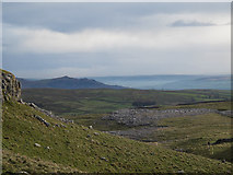 SD8965 : View down Airedale from Dean Moor Hill by Stephen Craven