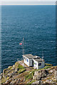 SW3431 : Lookout, Cape Cornwall by Ian Capper