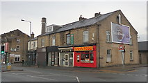 SE1431 : Shops, 543 to 553 Great Horton Road by Stephen Armstrong