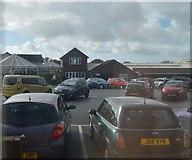 SX4060 : Tamar View Nursery car Park by N Chadwick