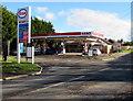 ST1379 : Radyr Filling Station, Llantrisant Road, Cardiff by Jaggery