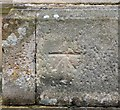 NN6207 : Cut Benchmark at Callander Kirk by Gerald England