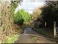 SK5417 : Track to Woodthorpe Bridge by Ian Calderwood