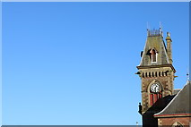 NX4355 : Town Hall Clock Tower, Wigtown by Billy McCrorie