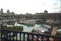 TQ3680 : Limehouse Basin by Anthony O'Neil