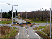 NJ0459 : Roundabout at the east of Forres by John Lucas