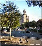 NS6065 : Car parking near Glasgow Royal Infirmary by Gerald England