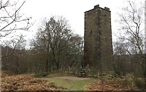SK2563 : Tower on Stanton Moor by Chris Thomas-Atkin