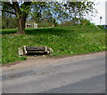 SO6303 : WI Golden Jubilee bench, Primrose Hill, Lydney by Jaggery