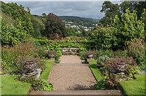SX4268 : Terraced Garden by Ian Capper