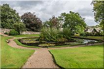 SX4268 : Pond, Upper Garden by Ian Capper