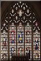 SK9153 : East window, St Helen's church, Brant Broughton by Julian P Guffogg