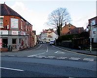 SJ3057 : Castle Street, Caergwrle, Flintshire by Jaggery