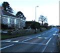 SJ3057 : Mold Road speed bump, Caergwrle, Flintshire by Jaggery
