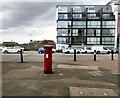 SJ8298 : EIIR postbox (M5 32) by Gerald England