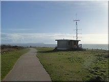 SZ1790 : Coastguard station on Hengistbury Head by David Smith