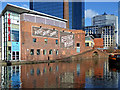 SP0686 : Converted wharf buildings by Gas Street Basin in Birmingham : Week 5
