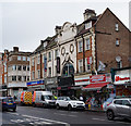 """TQ2975 : """"The Majestic"""", Clapham by Julian Osley"""
