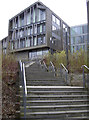 ST6568 : Steps up to the new civic centre by Neil Owen