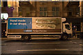 NS5965 : A Greggs night time delivery truck replenishing a store in Glasgow by Garry Cornes
