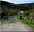 SS9792 : Eastern entrance to Clydach Vale Country Park by Jaggery
