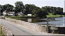 SN0403 : Carew bridge and Castle by Alan Walker