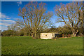 SU0885 : WWII Wiltshire: shellproof pillboxes of Lydiard Green (Lydiard Millicent) - Pillbox #2 by Mike Searle
