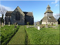SO3958 : St Mary's church, Pembridge by Philip Halling