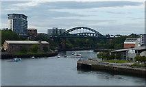 NZ4057 : The River Wear in Sunderland by Mat Fascione